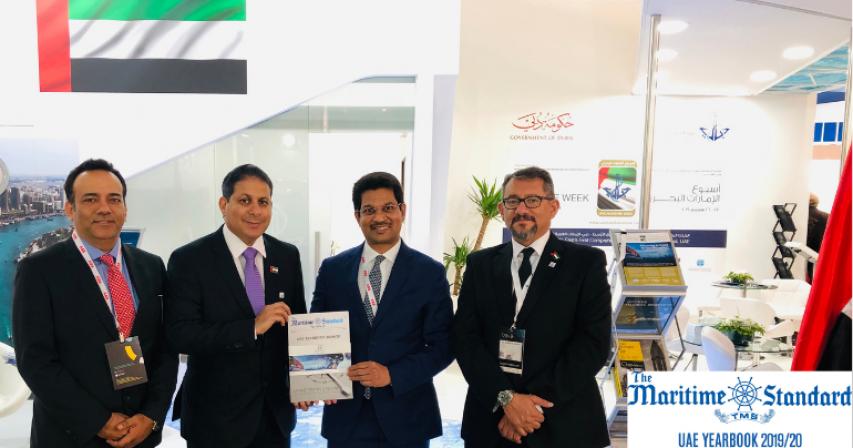 The Maritime Standard,The Maritime Standard Yearbook 2019/20,Nor-Shipping ,Dubai
