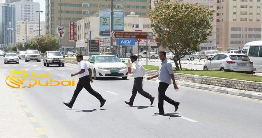 48,000 Pedestrians UAE Fined in 2019