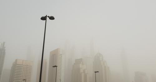 Dubai Weather: Heavy Sandstorm sweeps through the city