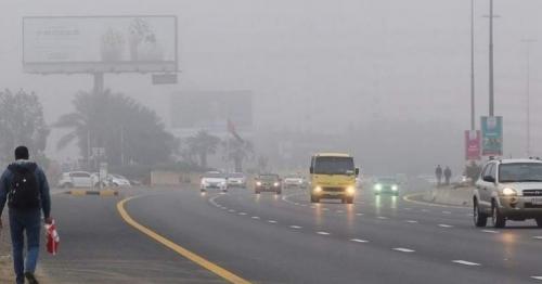 Mist, fog reduce visibility on UAE roads