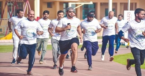 Galadari staff acknowledge Dubai Fitness Demand with incredible energy