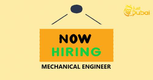 MNC Hiring for Mechanical Engineer in Dubai